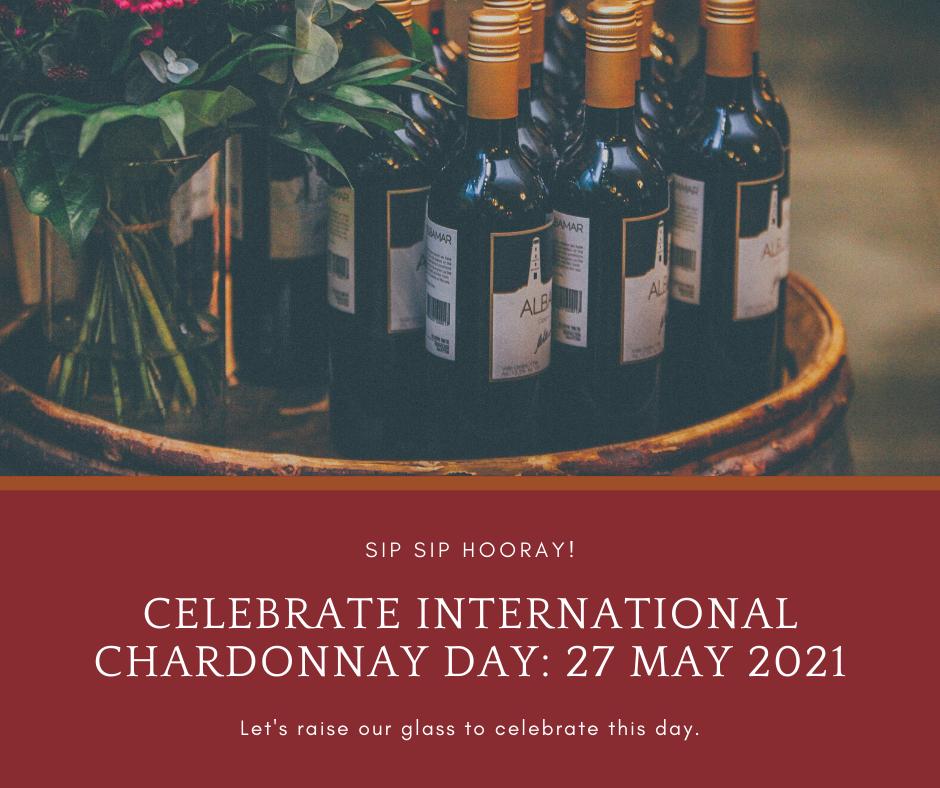Celebrate International Chardonnay Day at Baci Restaurant on 27 May 2021